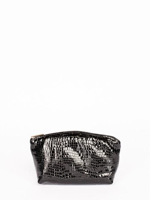 Engraved Crocodile Medium Purse